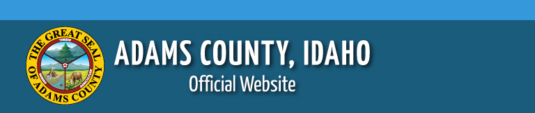 Adams County Road and Bridge Logo