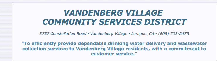 Vandenberg Village Community District Logo